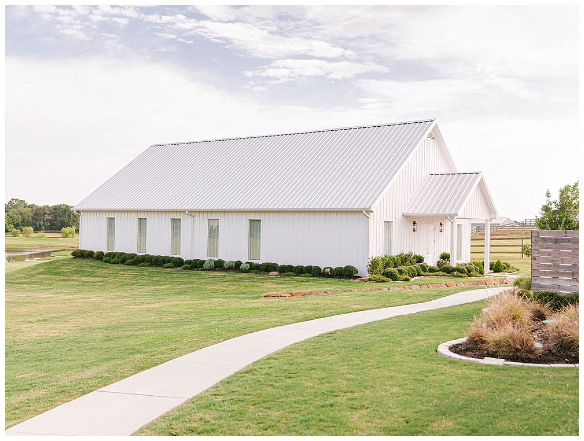 full landscape view of The Chapel |The Farmhouse Events Real Weddings | A Summer Vision of Love | Kristin & Rob